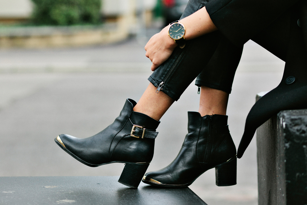Dune-buckled-ankle-boots-