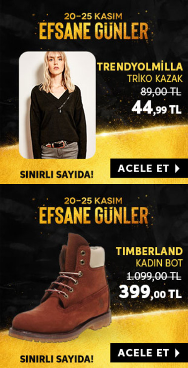 trendyol black friday